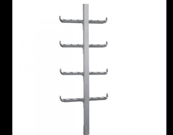 scala in acciaio