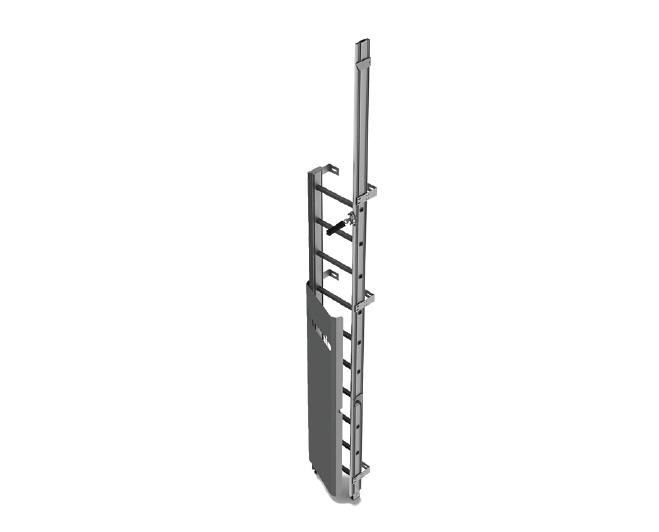 scala di alluminio