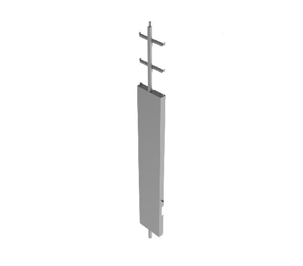 scala con linea rigida